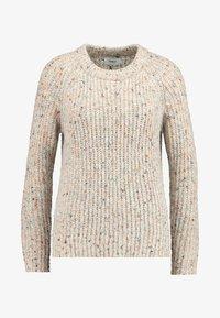 ONLY - ONLHANNI O NECK - Pullover - light grey melange/multi color - 3