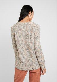 ONLY - ONLHANNI O NECK - Pullover - light grey melange/multi color - 2