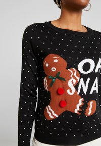 ONLY - ONLOHSNAP PULLOVER  - Jumper - black - 6