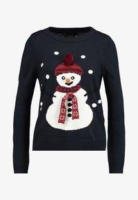 ONLY - ONLSNOW - Strikpullover /Striktrøjer - night sky/snowman - 4