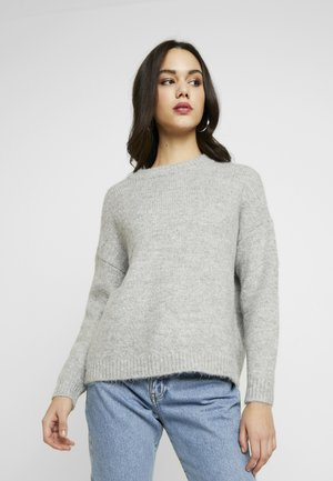 ONLZAZOEY - Jumper - light grey melange