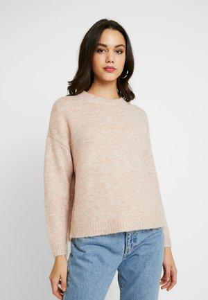 ONLZAZOEY - Pullover - misty rose/melange