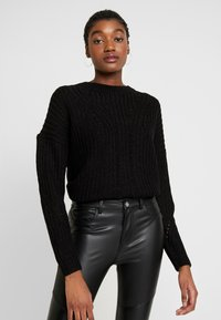 ONLY - ONLBARBARA - Pullover - black - 0