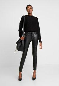 ONLY - ONLBARBARA - Pullover - black - 1