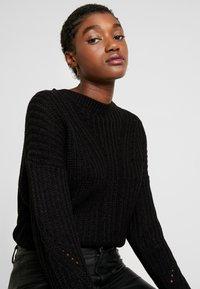 ONLY - ONLBARBARA - Pullover - black - 3
