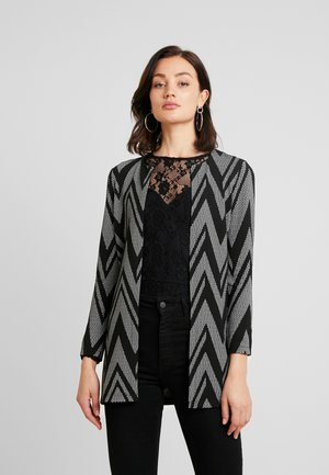 ONLLECO LONG CARDIGAN - Neuletakki - black