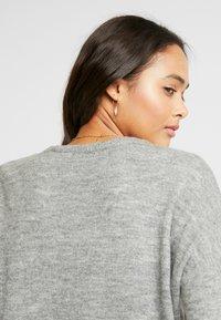 ONLY - ONLMIRNA STRIPE - Pullover - medium grey - 5