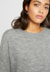 ONLY - ONLMIRNA STRIPE - Pullover - medium grey - 3