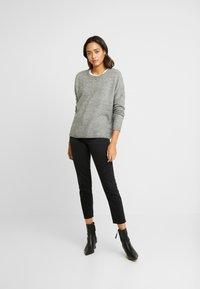 ONLY - ONLMIRNA STRIPE - Pullover - medium grey - 1