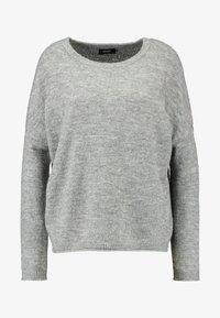 ONLY - ONLMIRNA STRIPE - Pullover - medium grey - 4
