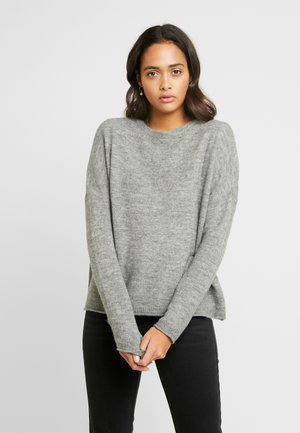 ONLMIRNA STRIPE - Pullover - medium grey