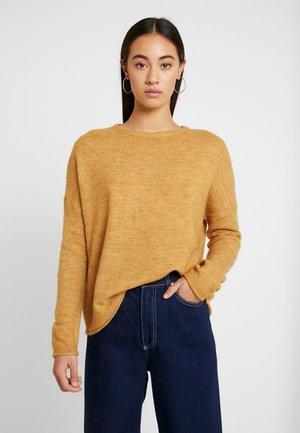 ONLMIRNA STRIPE - Jersey de punto - golden yellow/melange