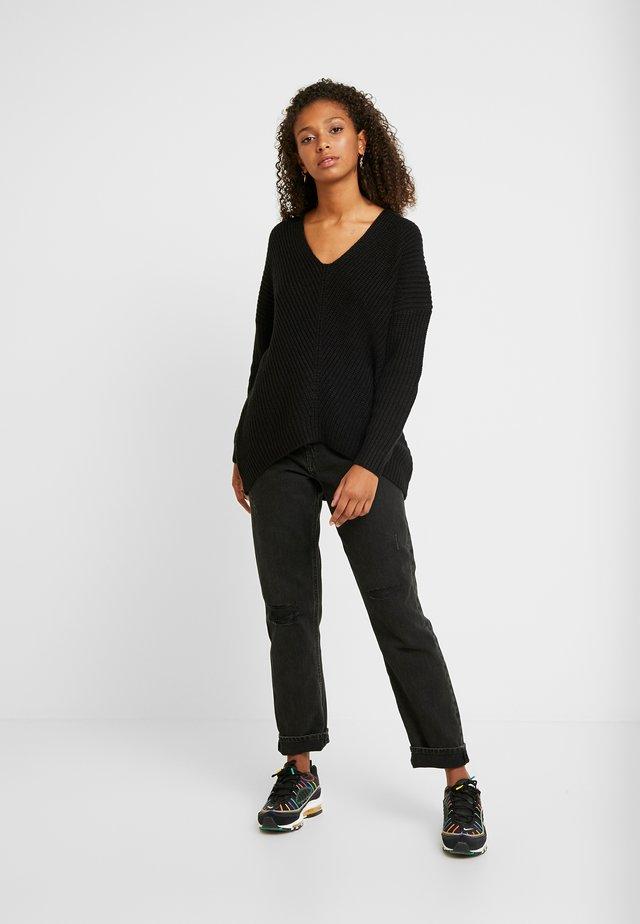 ONLCELTINA LONG - Jersey de punto - black