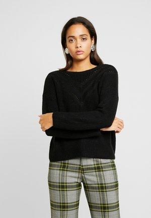 ONLARYA - Sweter - black