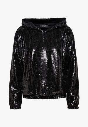 PAILLETTEN - Sweat à capuche - black