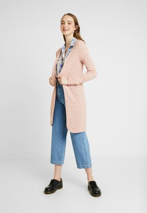 ONLASTER LONG CARDIGAN - Neuletakki - misty rose