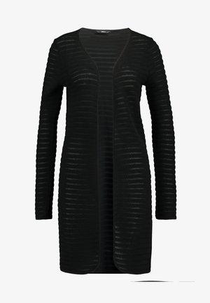 ONLASTER LONG CARDIGAN - Cardigan - black