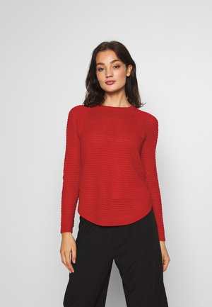 ONLVIOLET - Jumper - high risk red