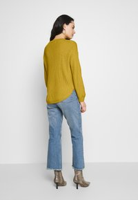 ONLY - ONLARONA - Jersey de punto - misted yellow - 2