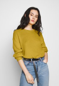 ONLY - ONLARONA - Jersey de punto - misted yellow - 0