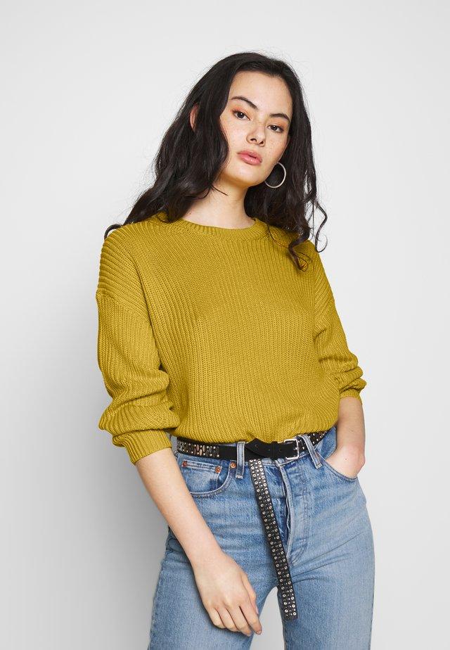 ONLARONA - Jersey de punto - misted yellow