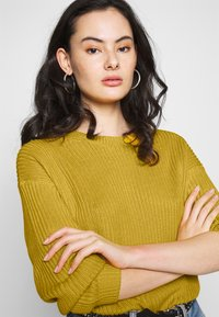 ONLY - ONLARONA - Jersey de punto - misted yellow - 3