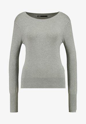 ONLVENICE O-NECK - Svetr - medium grey melange