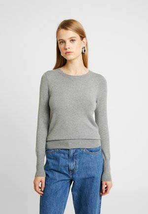 ONLVENICE O-NECK - Jumper - medium grey melange