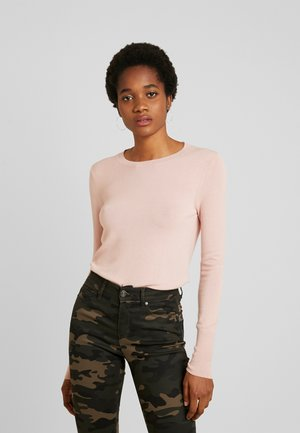 ONLVENICE O-NECK - Strikkegenser - rose smoke