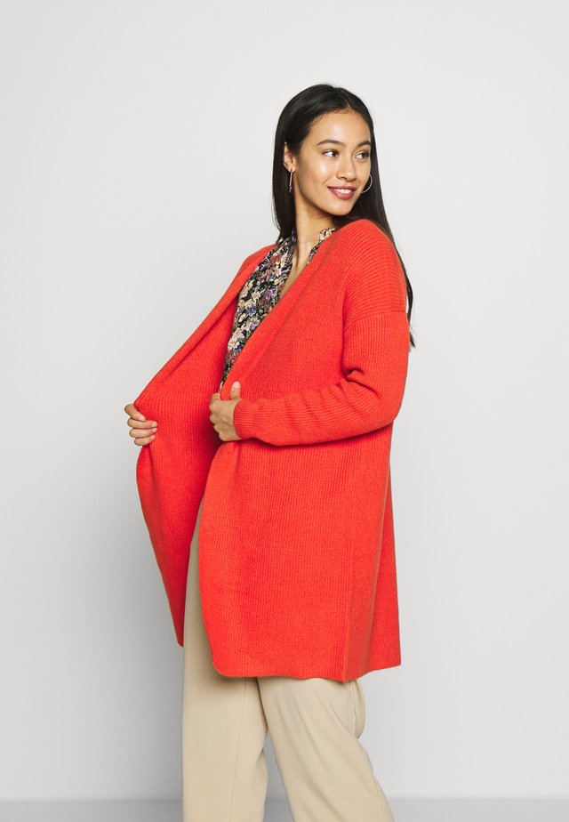 ONLMISCHA CARDIGAN - Chaqueta de punto - spicy orange