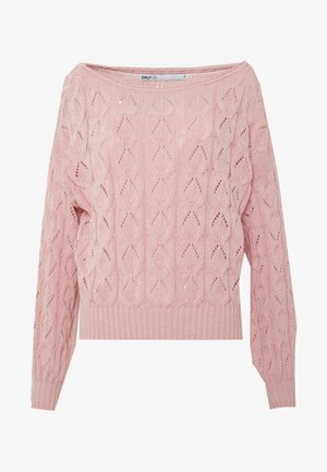 ONLFBRYNN STRUCTURE - Pullover - rose smoke