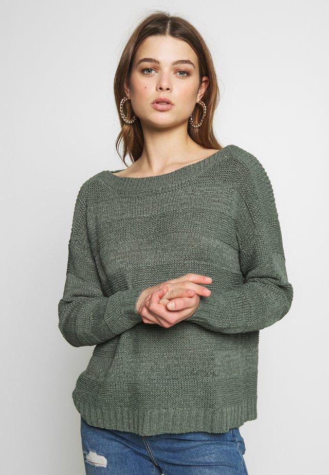 ONLCARILEE - Jersey de punto - balsam green