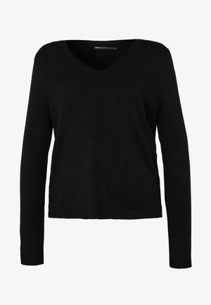 ONLLESLY NEW V-NECK - Jumper - black
