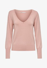 ONLY - ONLVENICE V NECK - Jumper - nude - 4