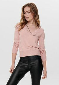 ONLY - ONLVENICE V NECK - Jumper - nude - 0