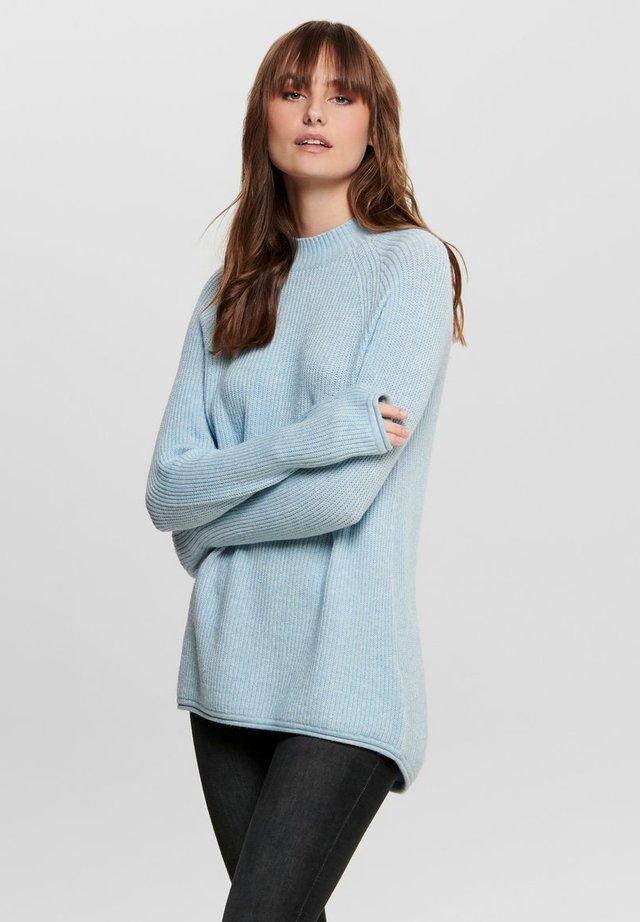 Jersey de punto - cashmere blue