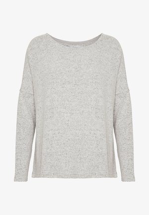 ONLMAYE O-NECK - Trui - light grey melange/black melange
