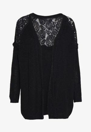 ONLELROSA CARDIGAN - Cardigan - black