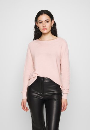 ONLCLARA BOATNECK - Jumper - rose smoke
