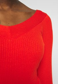ONLY - ONLTANZIA NECK  - Jumper - spicy orange - 5
