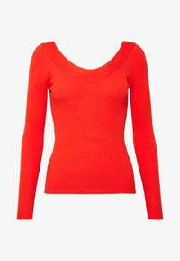 ONLY - ONLTANZIA NECK  - Jumper - spicy orange - 4