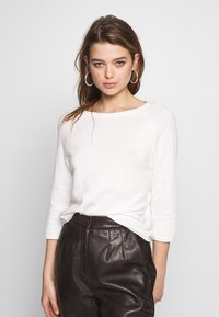 ONLY - ONYPOPPY - Sweter - cloud dancer - 0