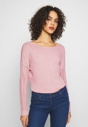 ONLEDEN STRING - Sweter - rose smoke