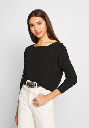 ONLHERO LIFE BACK DETAIL - Sweter - black