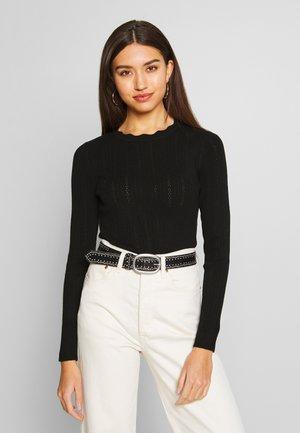 ONLALBA - Pullover - black