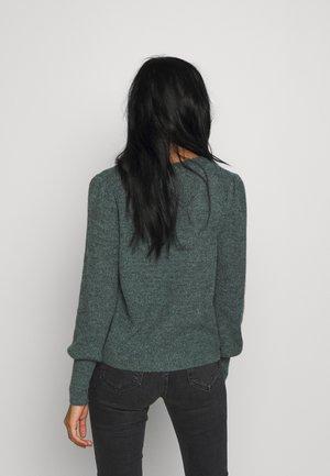 ONLMIRA CARDIGAN - Vest - balsam green melange