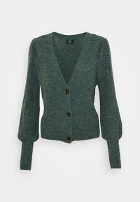 ONLY - ONLMIRA CARDIGAN - Cardigan - balsam green melange - 3