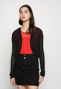 ONLY - ONLTULLA BOLERO - Cardigan - black - 0