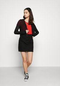 ONLY - ONLTULLA BOLERO - Cardigan - black - 1