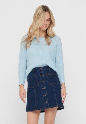 Sweter - cool blue